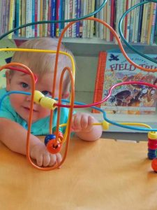 Never Too Young To Love The Library!