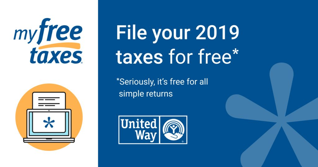 my free taxes: File your 2019 taxes for free.